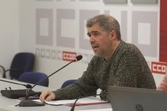 Unai Sordo participa este jueves en Guadalajara en una asamblea con delegados sindicales