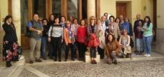 Representantes de entidades, asociaciones culturales, guías turísticos y bloqueros de Madrid visitan Guadalajara