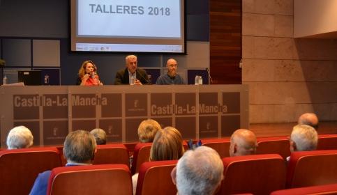 El Gobierno regional financia talleres de envejecimiento activo para mayores de 130 asociaciones de la provincia de Guadalajara