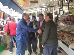 El presidente de la Diputación asiste a la I Feria de la Caza organizada en Illana
