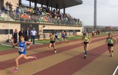Más de 300 jóvenes deportistas se dieron cita en la primera prueba del Campeonato Regional de Atletismo en Edad Escolar