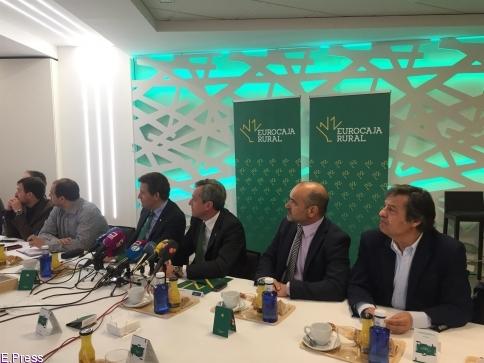 Eurocaja Rural no descarta expandirse fuera de España y rechaza