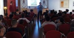 Un total de 250 alumnos participan en la lectura comentada del libro 'Viaje a la Alcarria en familia' organizada por la Diputación