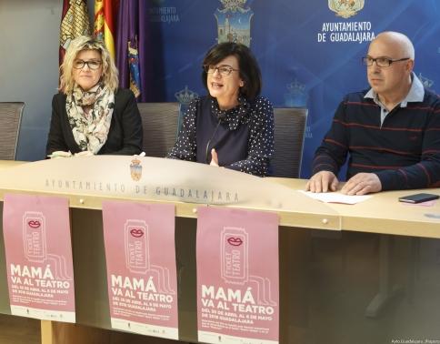 Un total de 119 establecimientos de la ciudad participarán en la campaña 'Mamá va al Teatro'