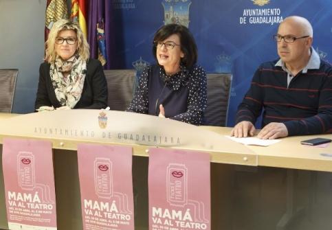 La nueva edición de 'Mamá va al teatro' se celebrará desde el 30 de abril hasta el 6 de mayo en Guadalajara