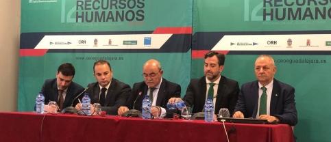 Un centenar de profesionales asisten al 12º Foro de Recursos Humanos de Guadalajara
