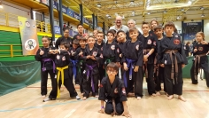 Celebrado con éxito el III Campeonato Internacional de Kajukenbo
