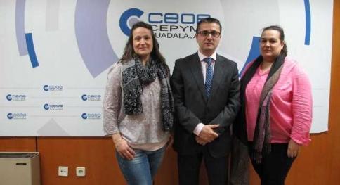 El Ampa César Bona de Alovera se une al proyecto 'Socio a Socio' de CEOE-Cepyme Guadalajara