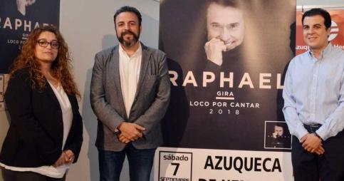 Raphael actuará en Azuqueca el 7 de septiembre con los precios más bajos de su gira por España