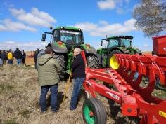 Demostración de maquinaria agrícola Quiles en Molina de Aragón
