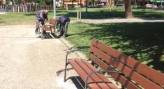 El Ayuntamiento continúa con el programa de 'Puesta a punto de los parques en Primavera'