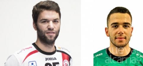 Pablo Paredes y Jaime Gallardo, primeros fichajes del nuevo Quabit BM Guadalajara