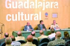 La importancia de Guadalajara en la historia militar de España de tres siglos, en un libro