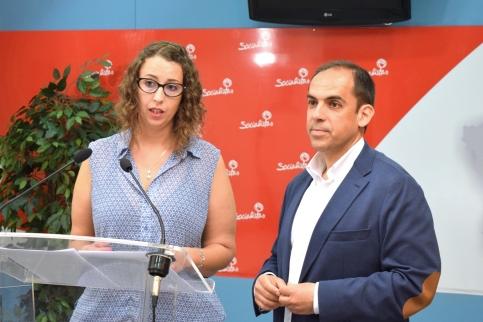 El PSOE realiza un negativo balance de los tres años de este mandato municipal