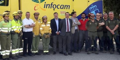 La campaña contra incendios arranca con una nueva base en Sacedón