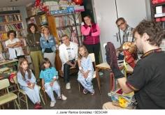 Sesión de narración oral en el Hospital de Guadalajara