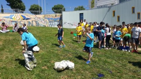 Medio centenar de niños participaron en el Encuentro Provincial de Consejos de la Infancia celebrado en Cabanillas