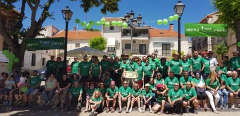 Camino verde de esperanza contra el Cáncer en Escariche