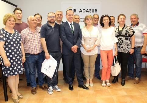 El Gobierno regional valora el papel de ADASUR en la mejora de servicios públicos y proyectos productivos en la zona sur de la Alcarria