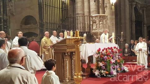 Una misa solemne en la catedral de Sigüenza da inicio al Año Jubilar