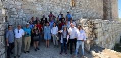 Torija, Jadraque, Atienza... en marcha el viaje de Diputación y CEOE