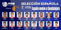 España vuelve a Guadalajara para preparar el Mundial