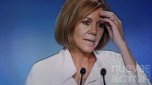 Cospedal gana en Castilla-La Mancha pero queda tercera y sin opciones a la presidencia nacional del PP
