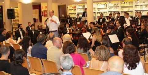 La Junta reivindica a Francisca de Pedraza durante el concierto en el que se ha interpretado la Suite que lleva su nombre