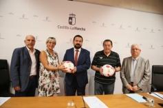 """El Gobierno regional espera que la Copa de Castilla-La Mancha sea un ejemplo de juego limpio """"para los niños y niñas que vienen detrás"""""""