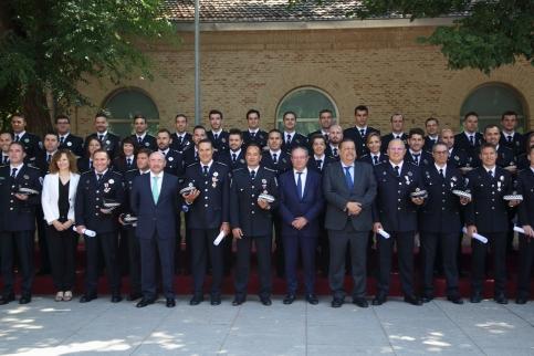 Más policías locales en los cursos de formación continua y para la provincia