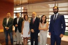 La Consejería de Sanidad y el Colegio de Farmacéuticos de Castilla-La Mancha renuevan su convenio de colaboración sobre drogodependencia