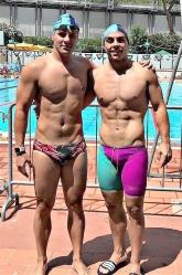 Andrey Maese y Gonzalo Mateo, entre los mejores del salvamento europeo