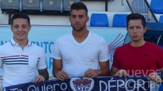 Lautaro, Gonzalo y Guille Atance, primeros fichajes del Deportivo