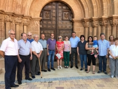 Parra y Sánchez acuden al Día del Jubilado de Millana