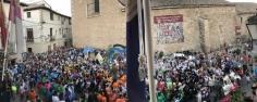 Estallido de alegría en Pastrana con motivo del inicio de las fiestas de la Virgen de la Asunción