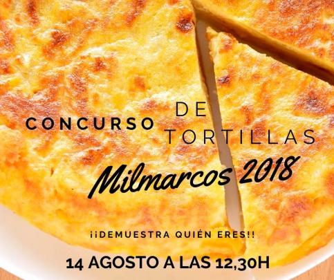 Concurso de tortillas en Milmarcos