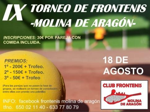 IX Torneo de Frontenis en Molina de Aragón