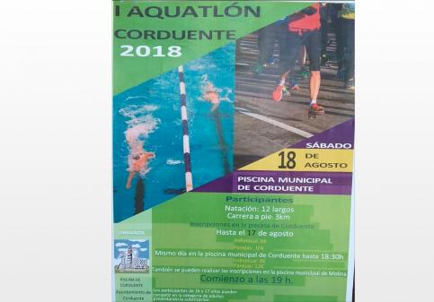I Aquatlón en Corduente