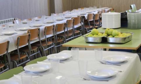La Junta concederá 2.504 ayudas de comedor escolar en la provincia el curso que viene, un 45% más que en el anterior