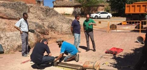 Diputación invierte más de 150.000 euros en redes y pavimentación en cinco municipios