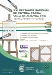El XXI Certamen Nacional de Pintura Rápida al aire libre 'Villa de Alovera' se celebrará el 30 septiembre