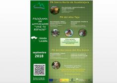 Actividades del Parque Natural del Alto Tajo durante el mes de septiembre