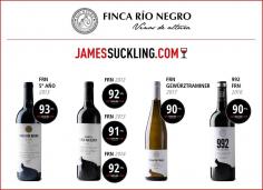 Finca Río Negro logra 93 puntos en la prestigiosa publicación James Suckling