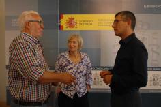 El subdelegado del Gobierno recibe a los responsables de la sección provincial de la Asociación para el Desarrollo de la Serranía Celtibérica