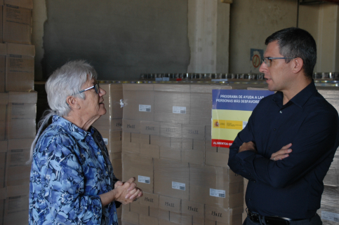 Más de 6.000 personas se beneficiarán en Guadalajara del Programa de Ayuda Alimentaria del Ministerio de Agricultura