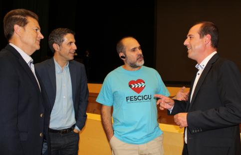 Alberto Rojo a los organizadores del Fescigu: