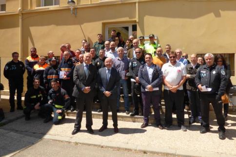 La Junta ha formado a unos 180 profesionales en la intervención ante emergencias que afecten a infraestructuras ferroviarias