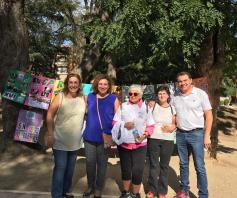 Diputación colabora con la Asociación Las Encinas en su Carrera por la integración