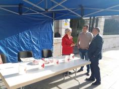 Diputación colabora con la cuestación de Cruz Roja
