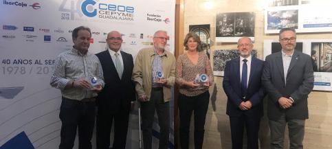 CEOE Guadalajara entrega los premios de fotografía de su 40º aniversario